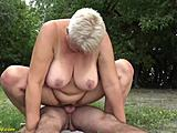 Corpulent mamma public owned by her toyboy HD