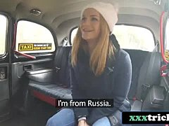 Pretty Russian Tourist Fucked By Czech Taxi Driver - Jenny Manson